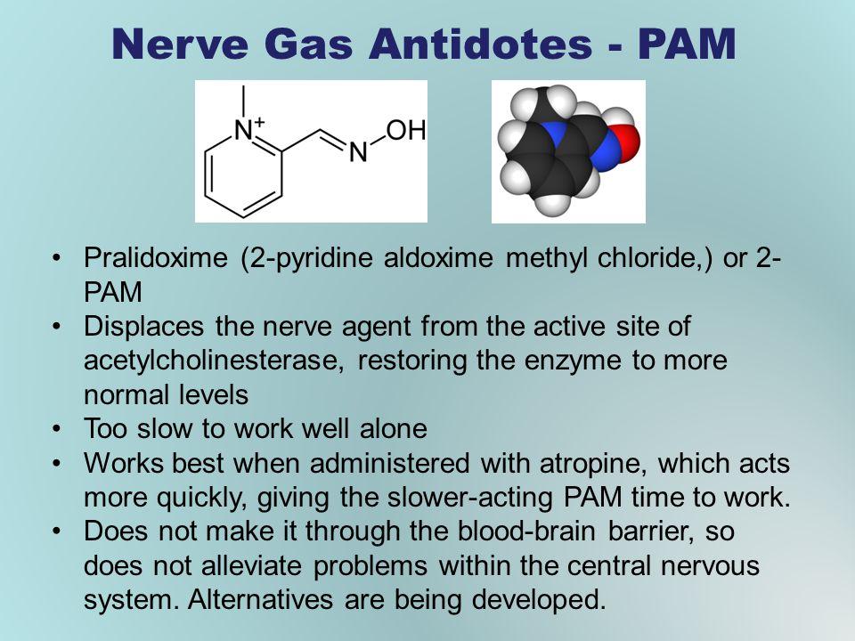 Nerve Gas Antidotes - PAM