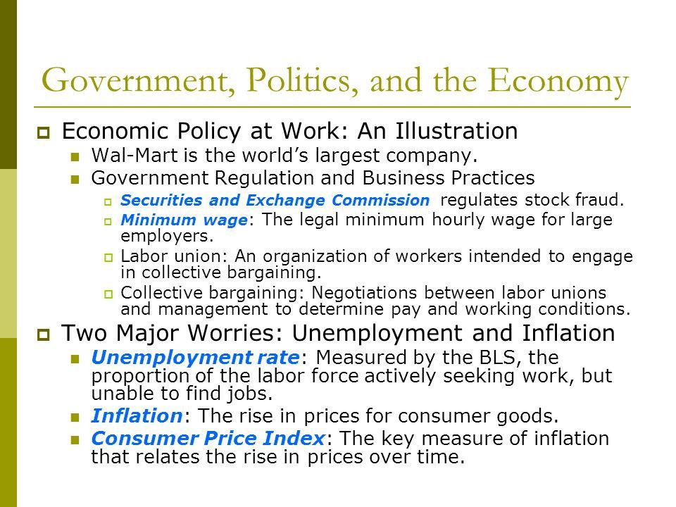 Government, Politics, and the Economy