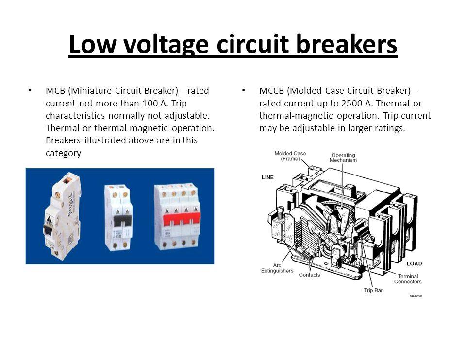Low Voltage Breaker : Circuit breakers ppt video online download