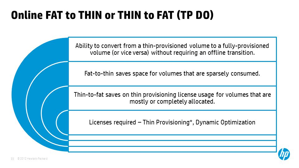 Online FAT to THIN or THIN to FAT (TP DO)