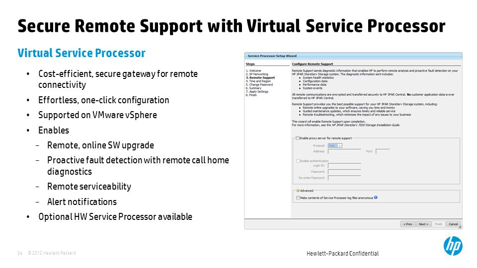 Secure Remote Support with Virtual Service Processor