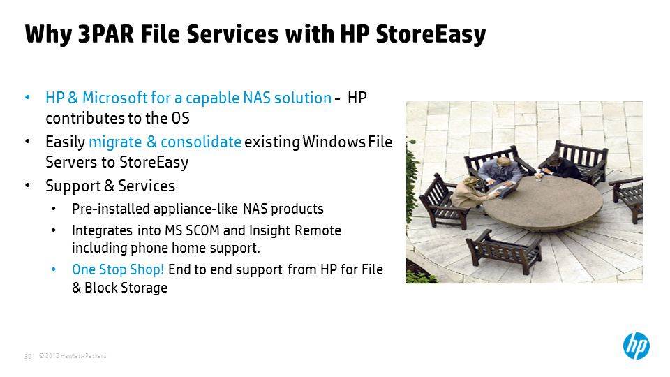 Why 3PAR File Services with HP StoreEasy
