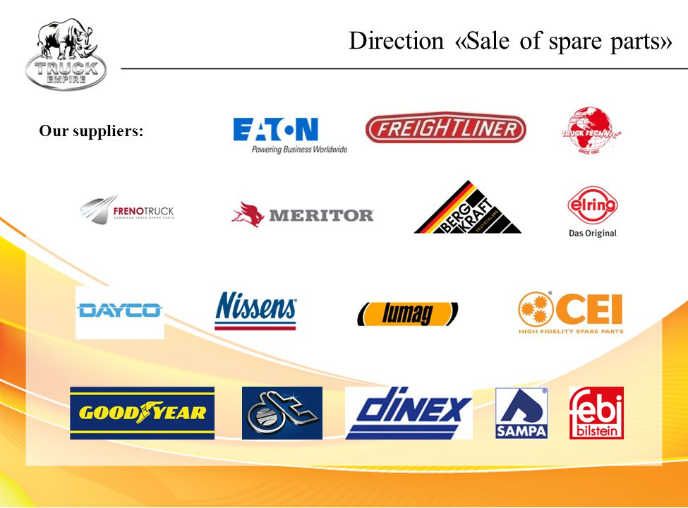 Direction «Sale of spare parts»
