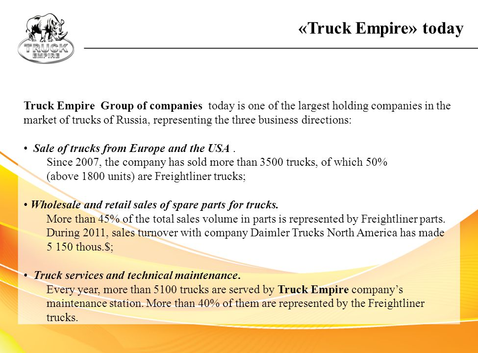 «Truck Empire» today