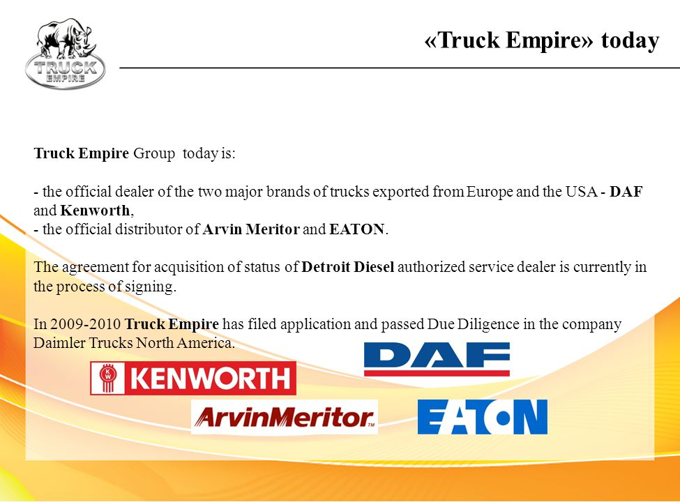 «Truck Empire» today Truck Empire Group today is:
