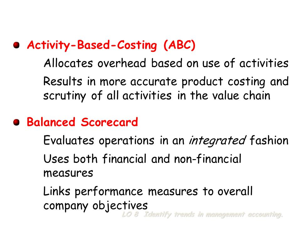 Activity-Based-Costing (ABC)