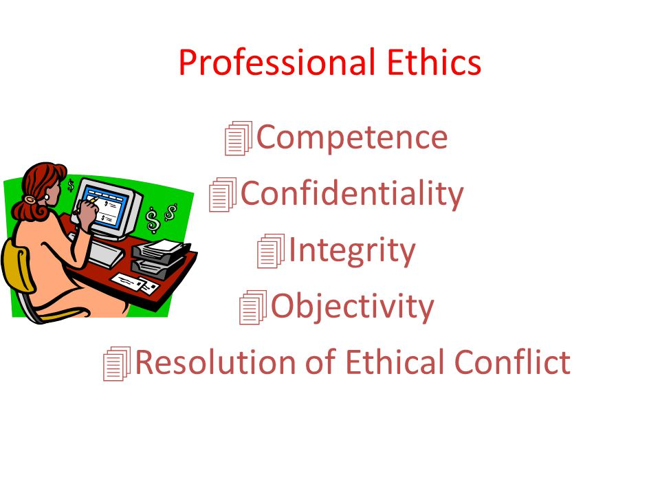 Resolution of Ethical Conflict