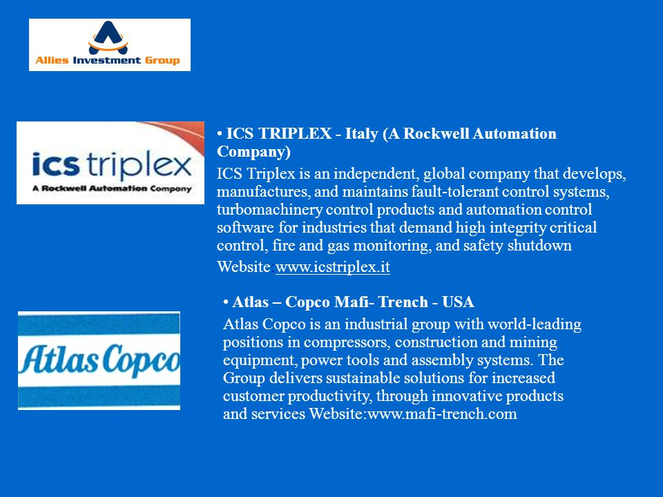 ICS TRIPLEX - Italy (A Rockwell Automation Company)