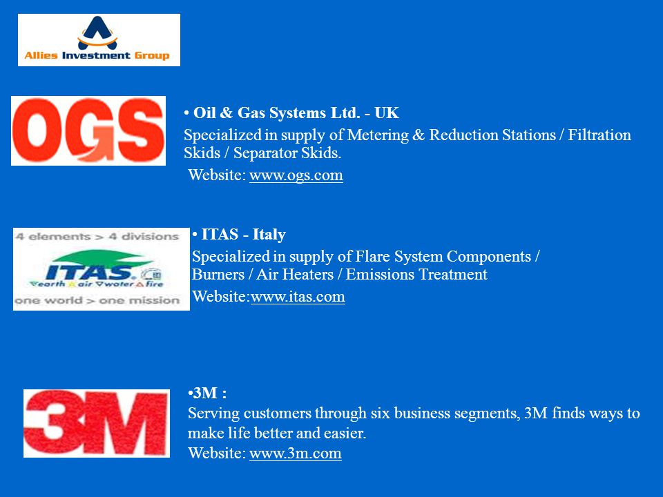 Oil & Gas Systems Ltd. - UK