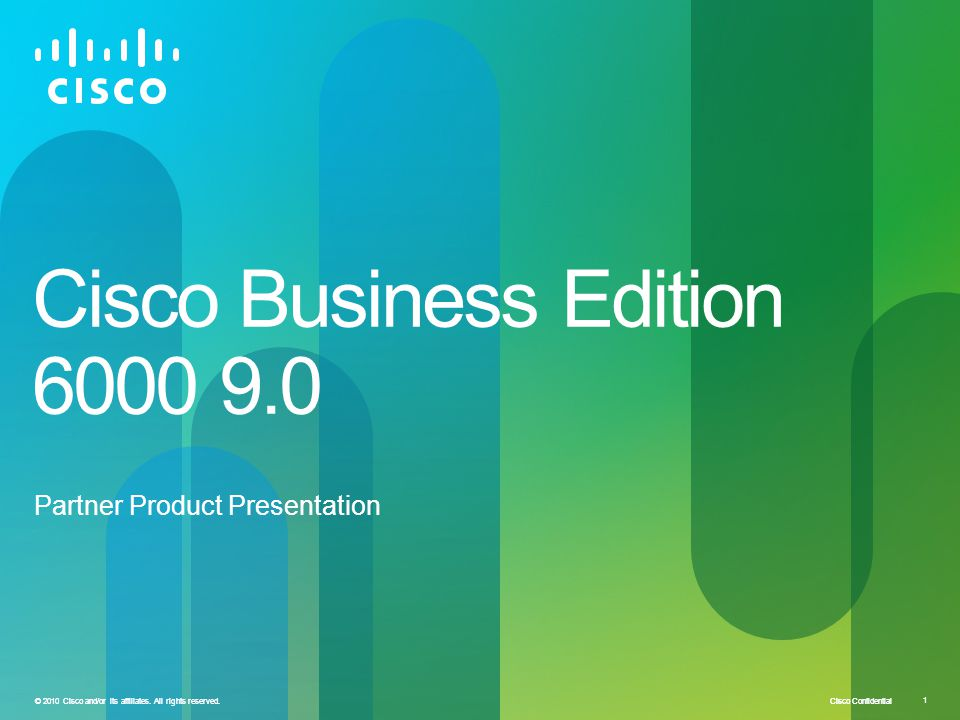 Cisco Business Edition 6000 9.0