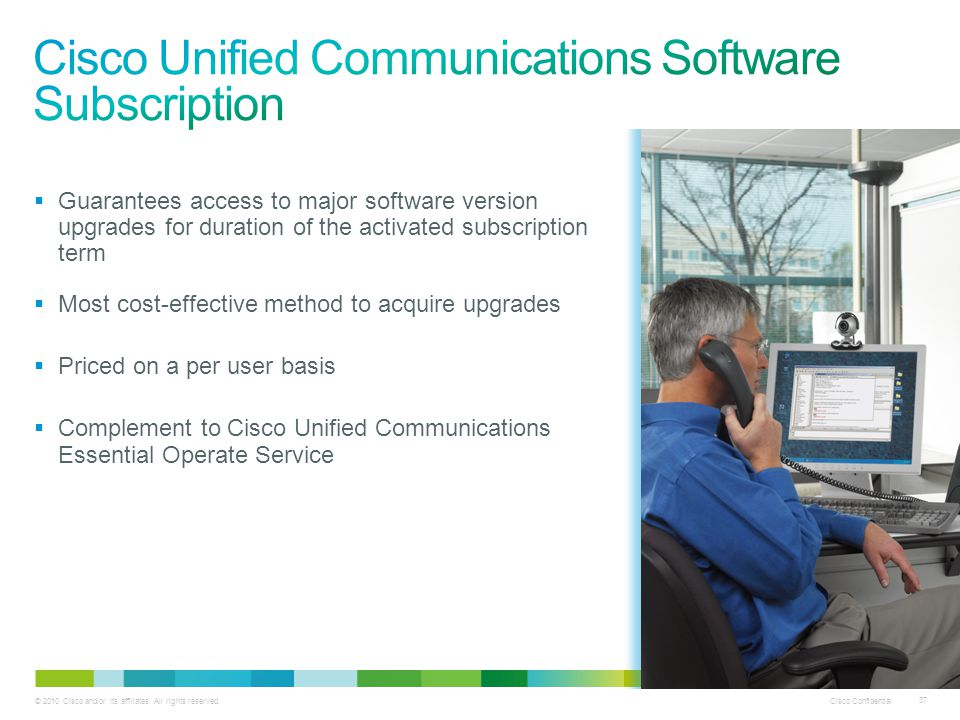 Cisco Unified Communications Software Subscription