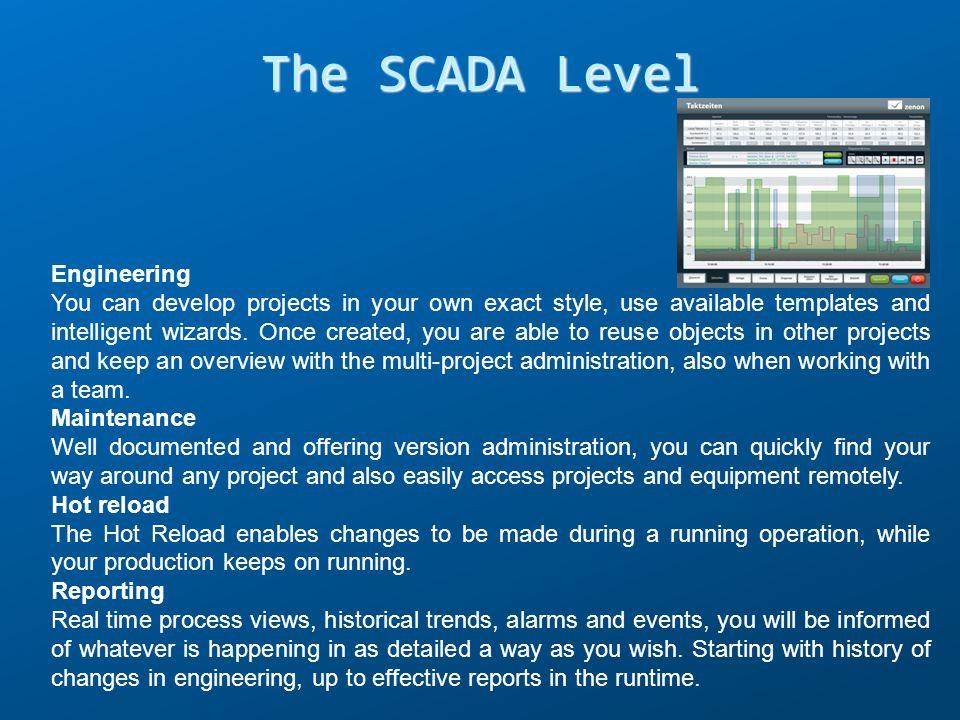 The SCADA Level Engineering