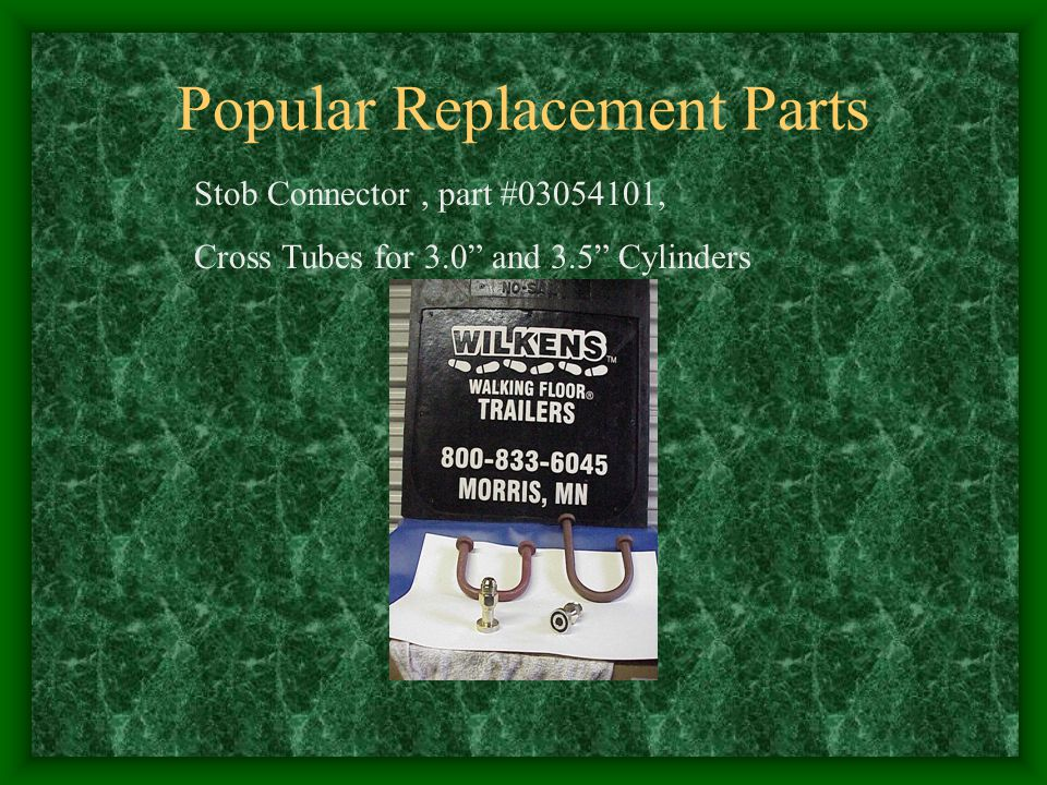 Popular Replacement Parts