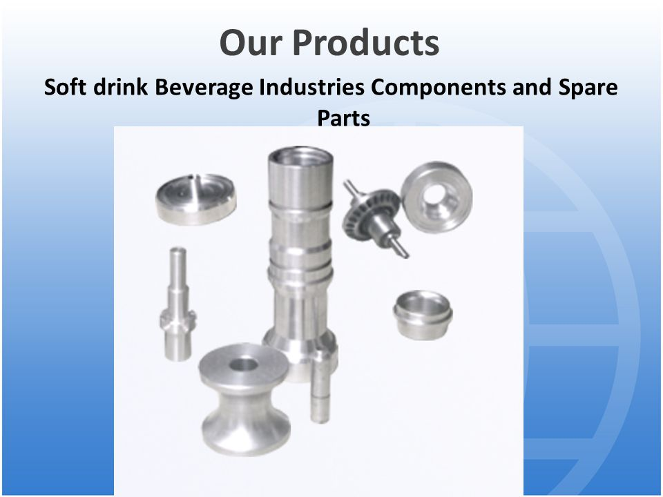 Soft drink Beverage Industries Components and Spare Parts