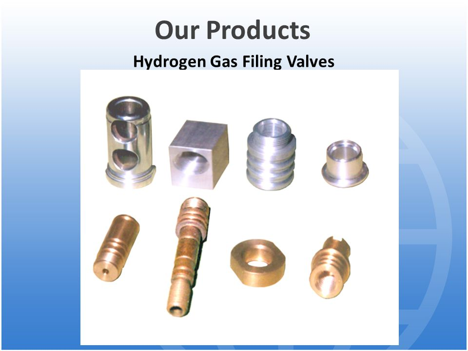 Hydrogen Gas Filing Valves