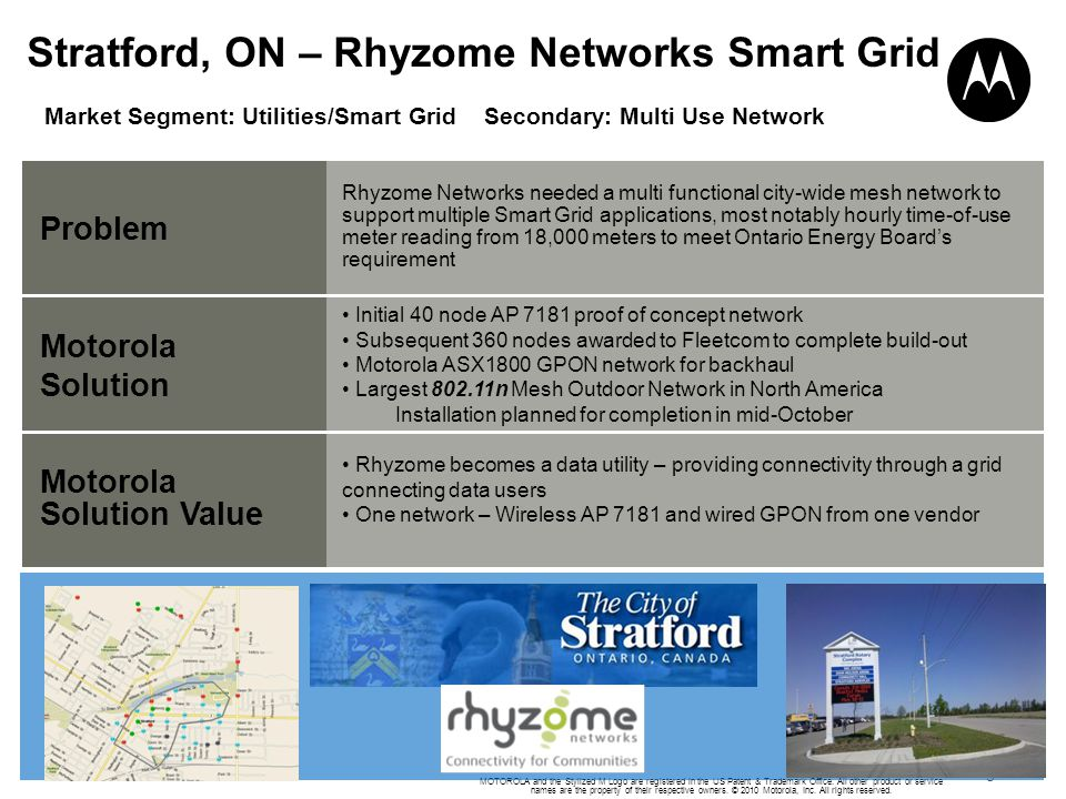 Stratford, ON – Rhyzome Networks Smart Grid