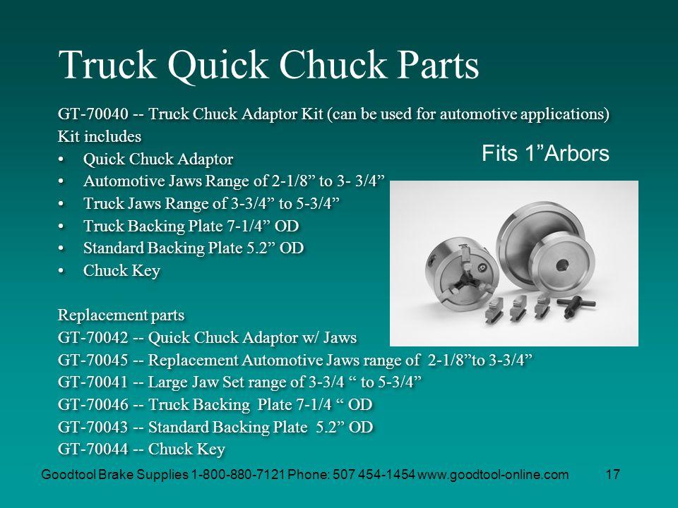 Truck Quick Chuck Parts