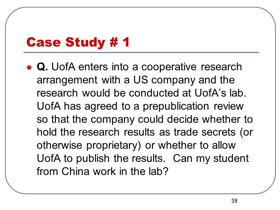 Case Study # 1