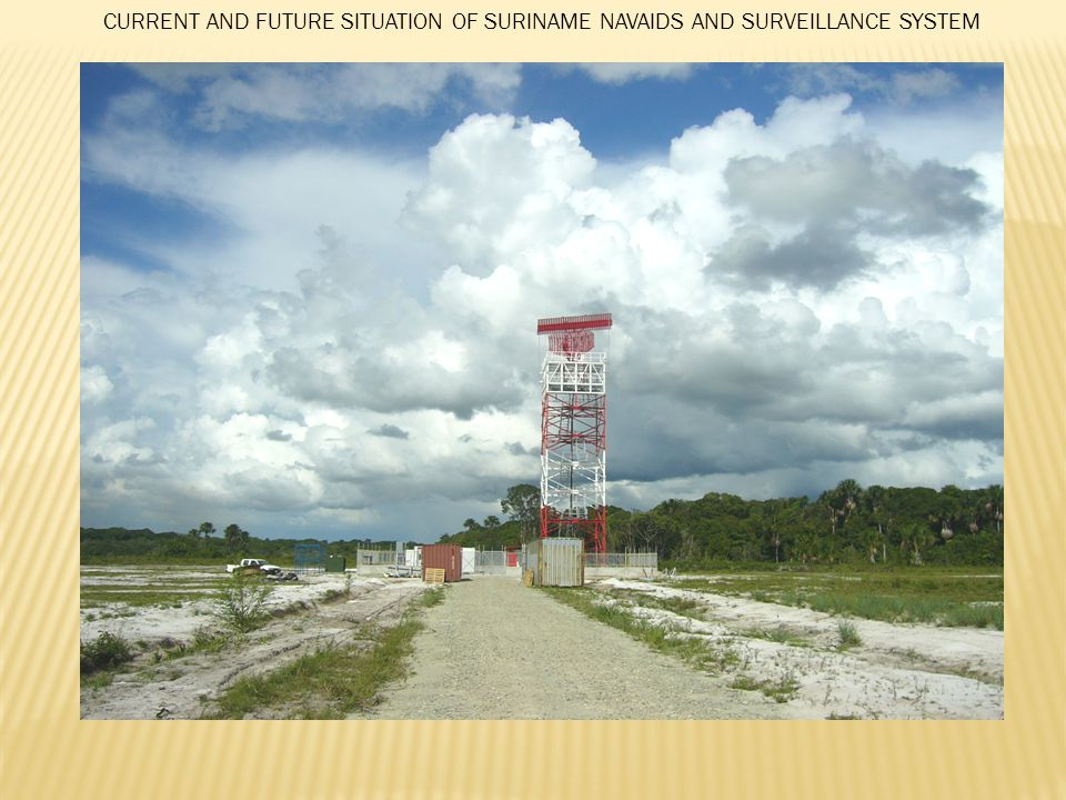 CURRENT AND FUTURE SITUATION OF SURINAME NAVAIDS AND SURVEILLANCE SYSTEM