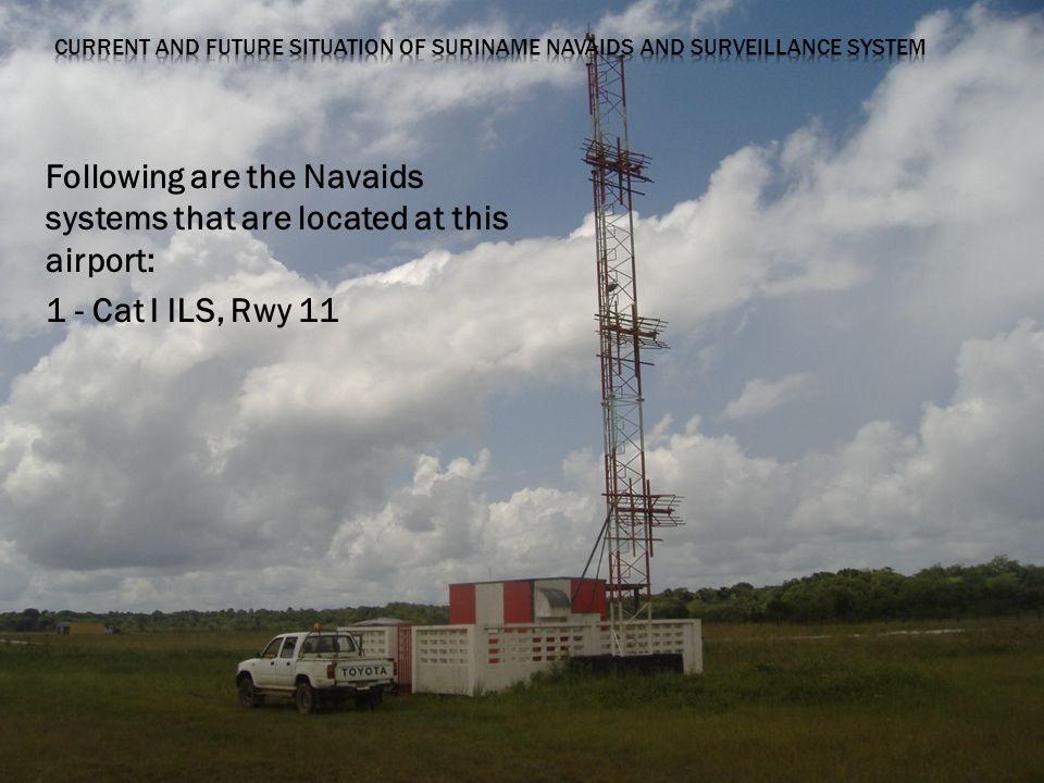 Following are the Navaids systems that are located at this airport: