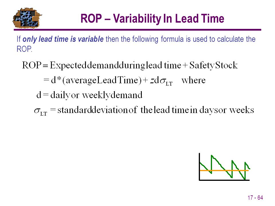 ROP – Variability In Lead Time