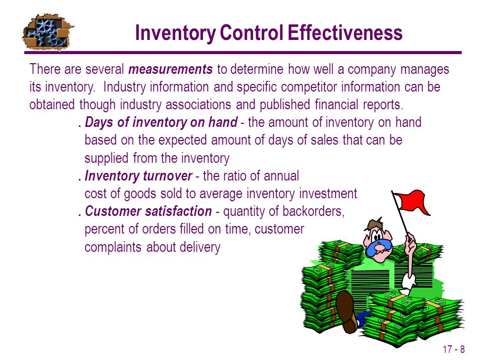 Inventory Control Effectiveness
