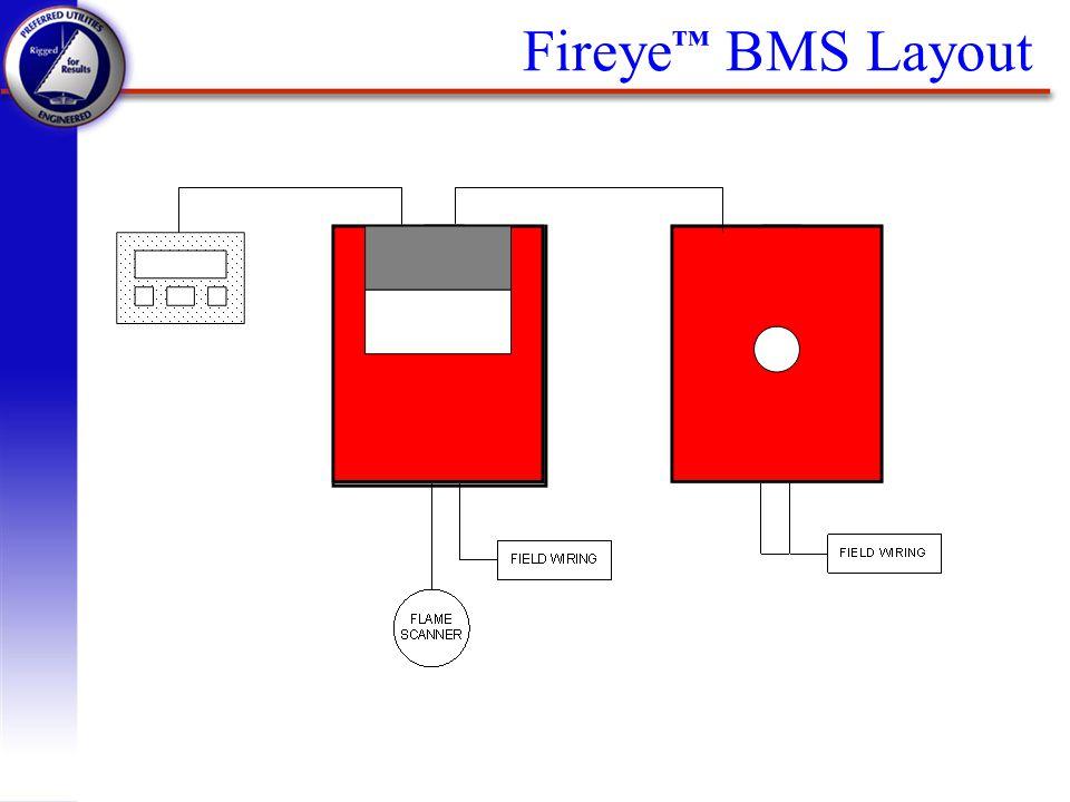 Fireye™ BMS Layout