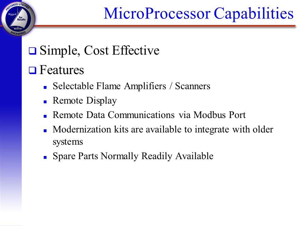 MicroProcessor Capabilities