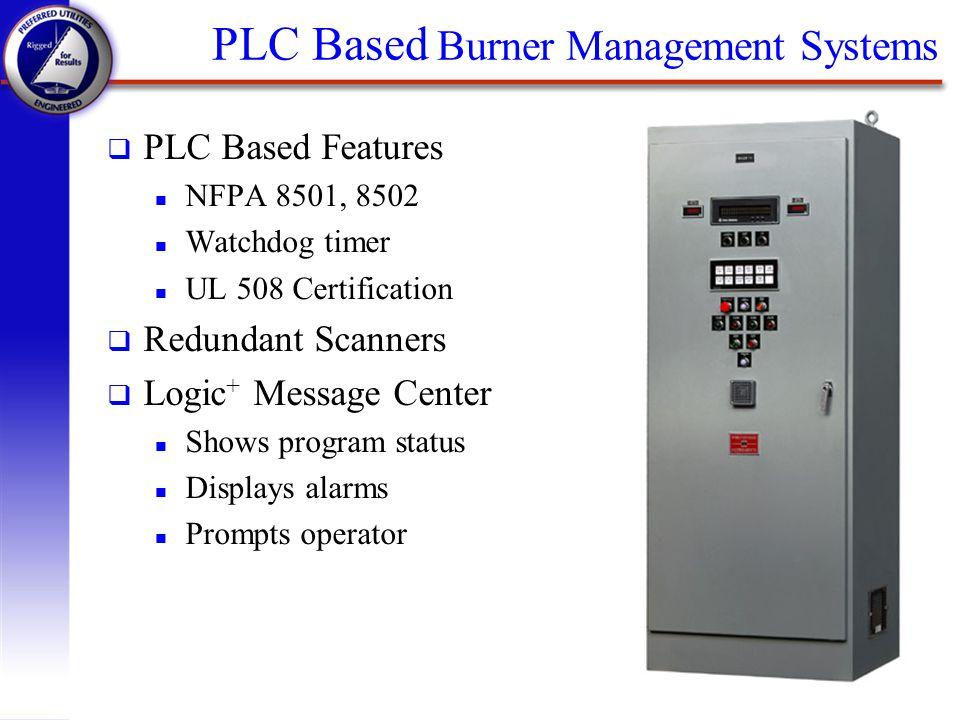 PLC Based Burner Management Systems