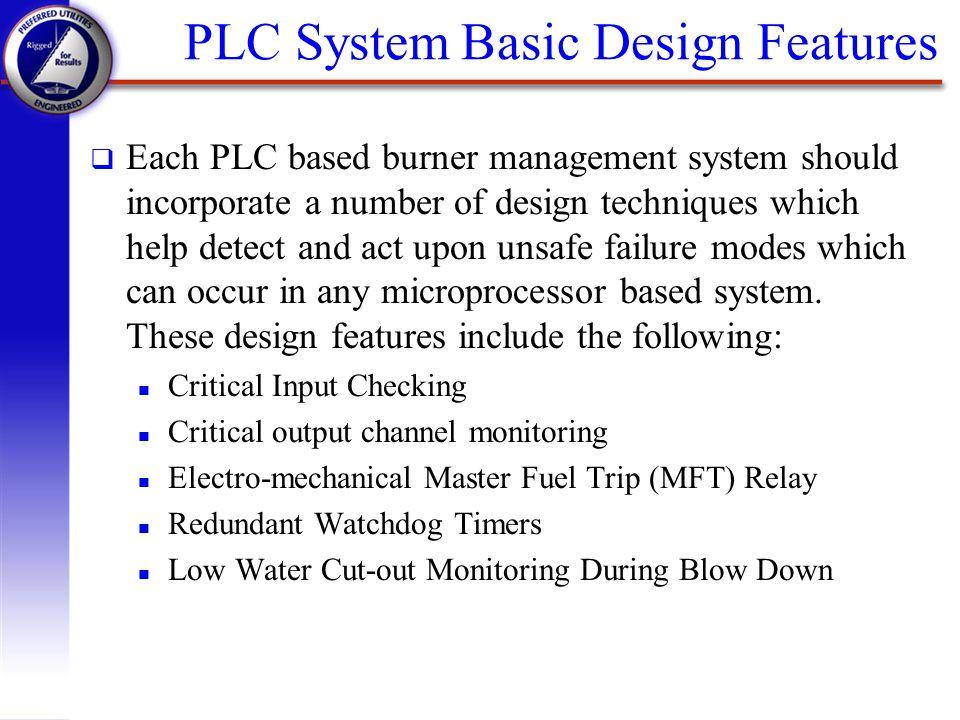 PLC System Basic Design Features