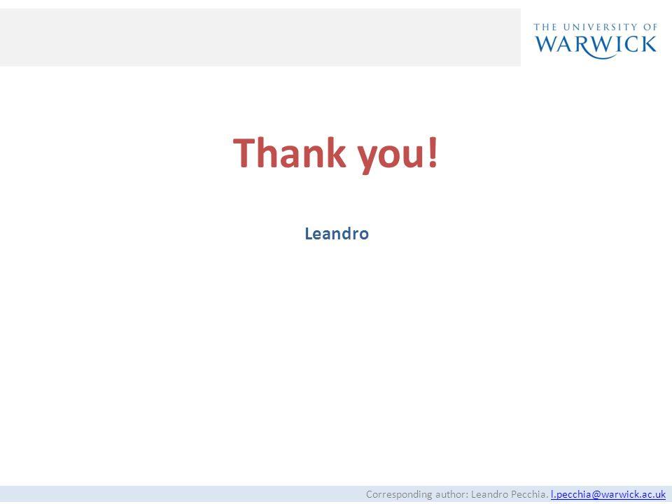 Thank you! Leandro 33
