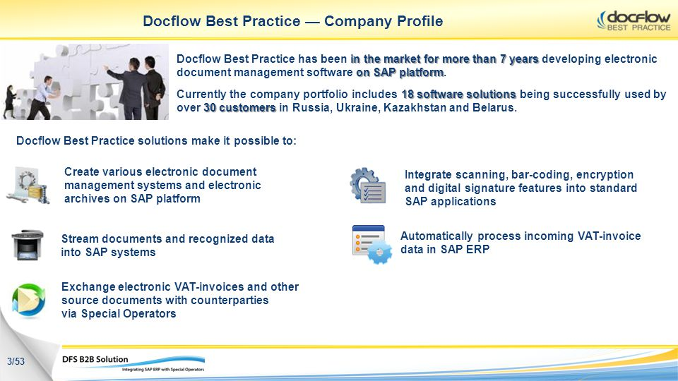 Docflow Best Practice — Company Profile