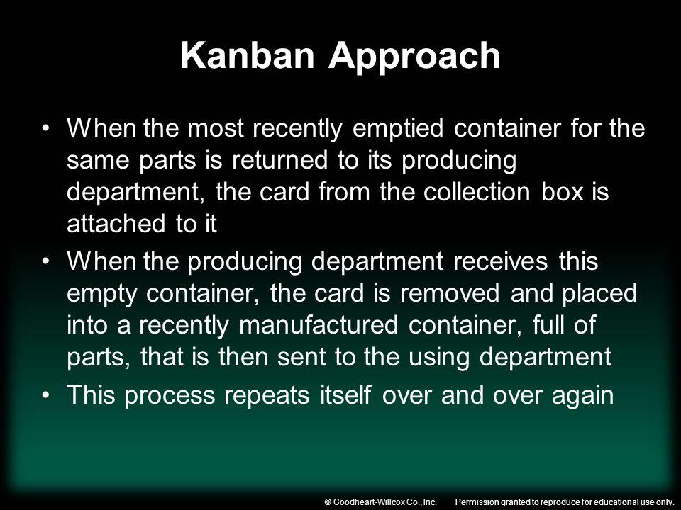 Kanban Approach
