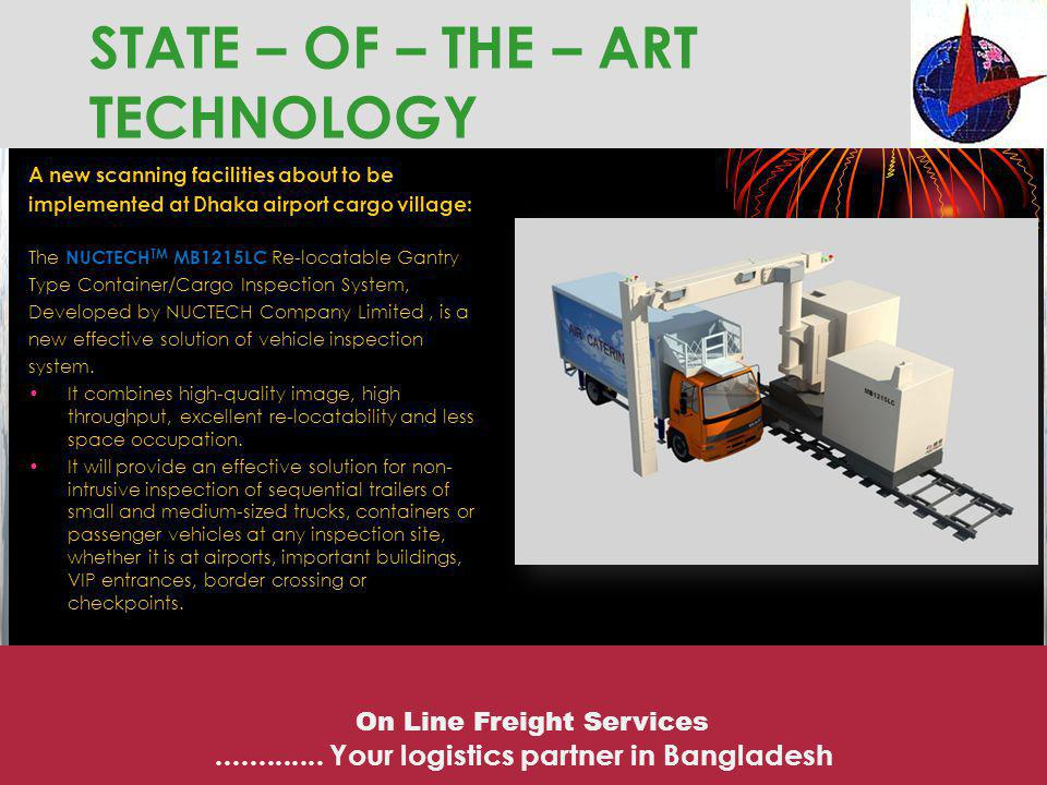 STATE – OF – THE – ART TECHNOLOGY