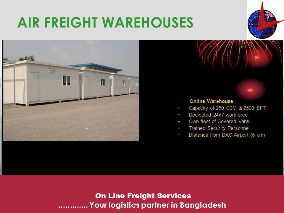 AIR FREIGHT WAREHOUSES