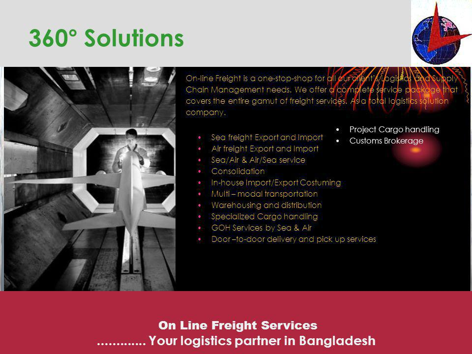 360° Solutions ............. Your logistics partner in Bangladesh