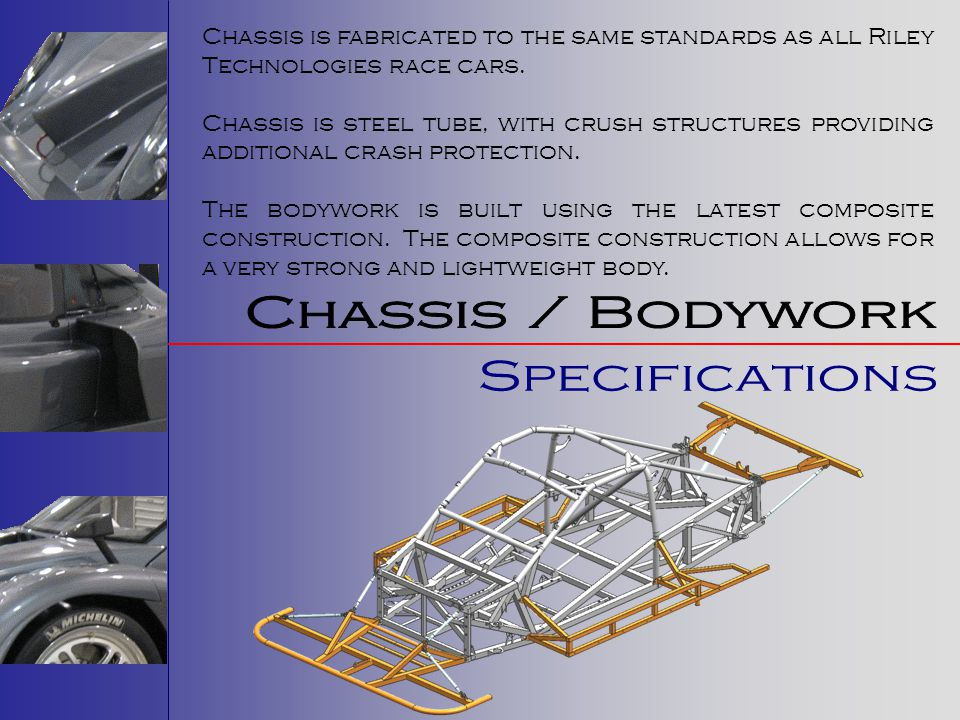 Chassis / Bodywork Specifications