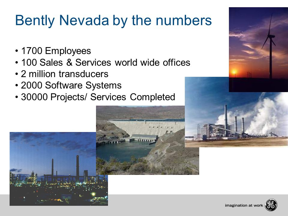 Bently Nevada by the numbers