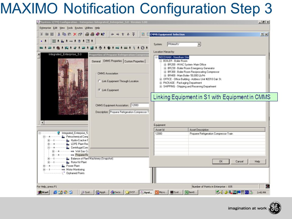 MAXIMO Notification Configuration Step 3