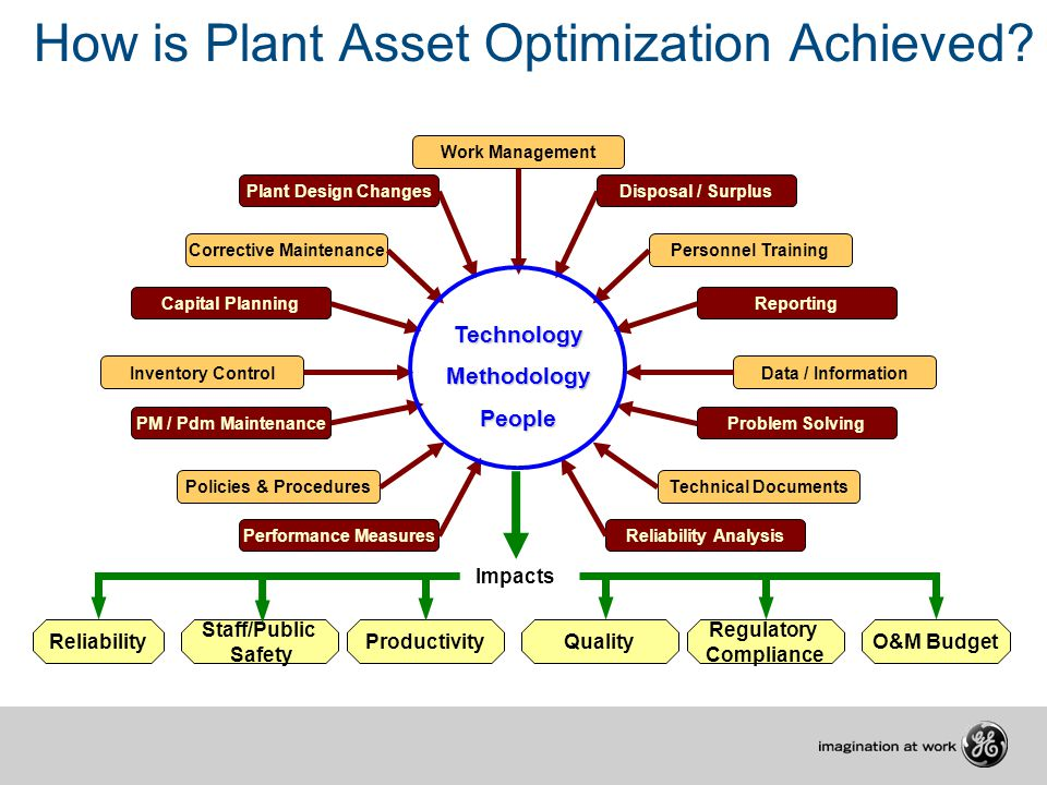 How is Plant Asset Optimization Achieved
