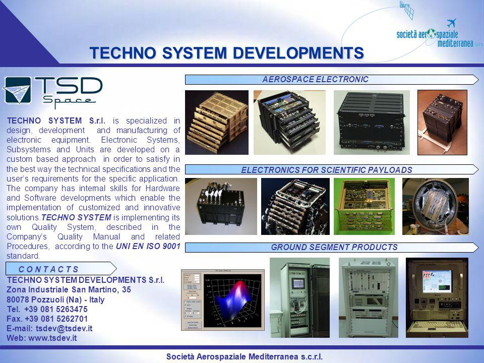 TECHNO SYSTEM DEVELOPMENTS