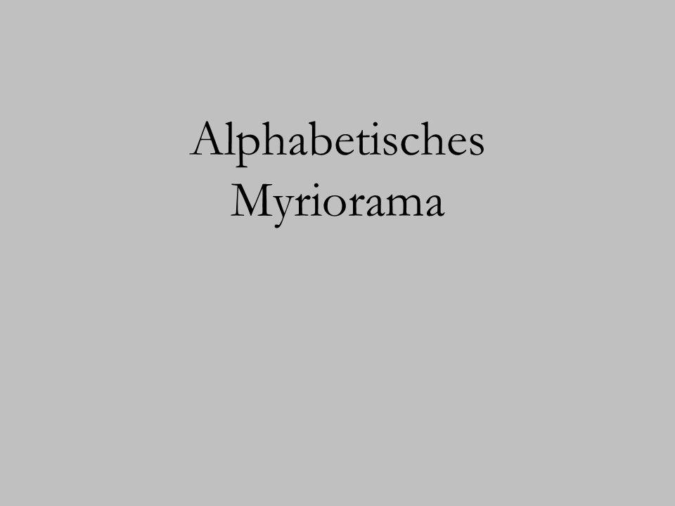 Alphabetisches Myriorama