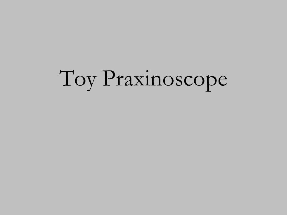 Toy Praxinoscope
