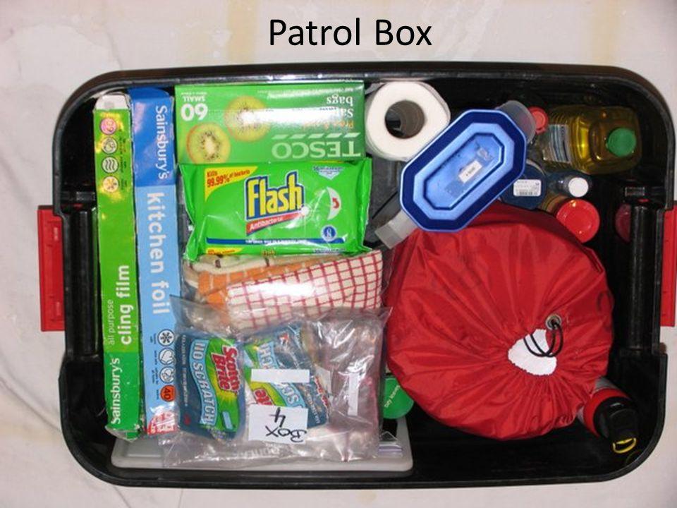 Patrol Box Patrol Box Preparation: