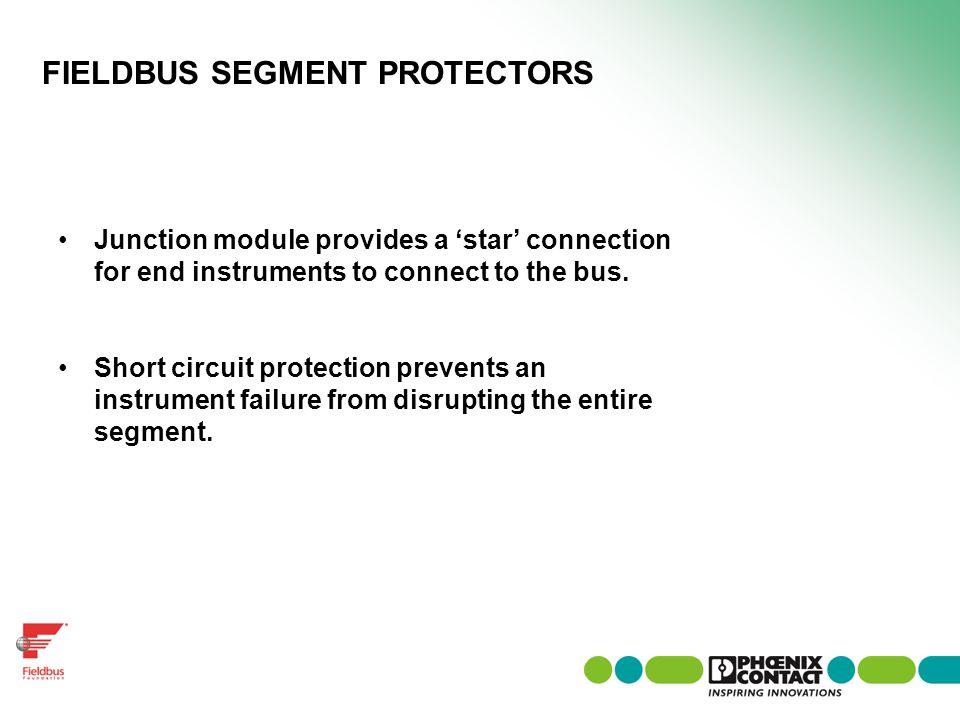 FIELDBUS SEGMENT PROTECTORS