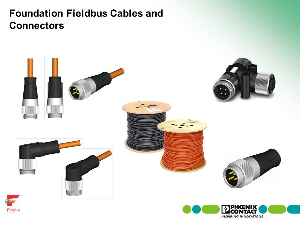 Foundation Fieldbus Cables and Connectors