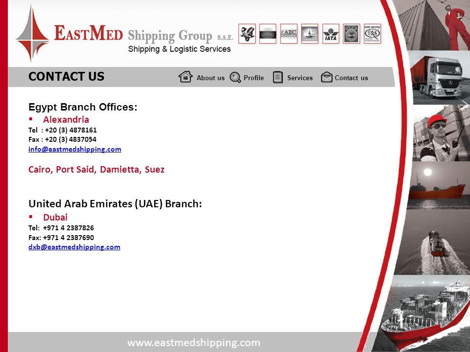 United Arab Emirates (UAE) Branch: