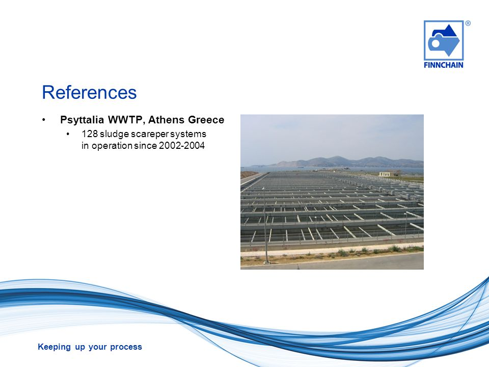 References Psyttalia WWTP, Athens Greece