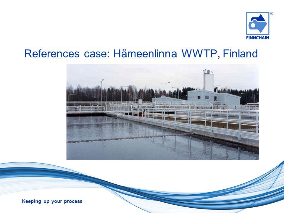 References case: Hämeenlinna WWTP, Finland