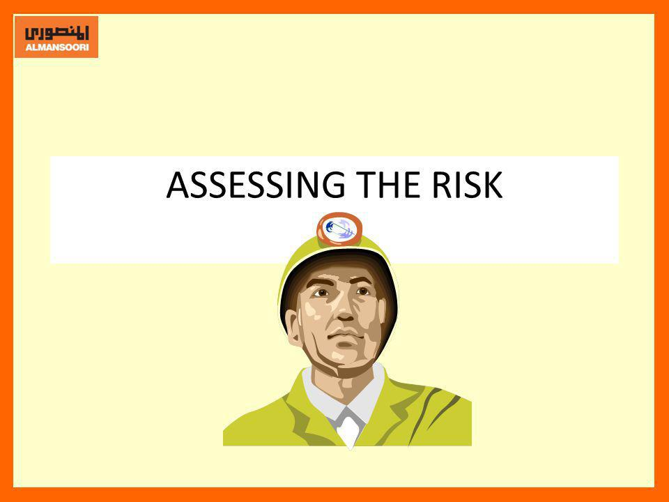ASSESSING THE RISK Once we have identified a hazard, it needs to be assessed for the probability of causing injury, harm or loss.